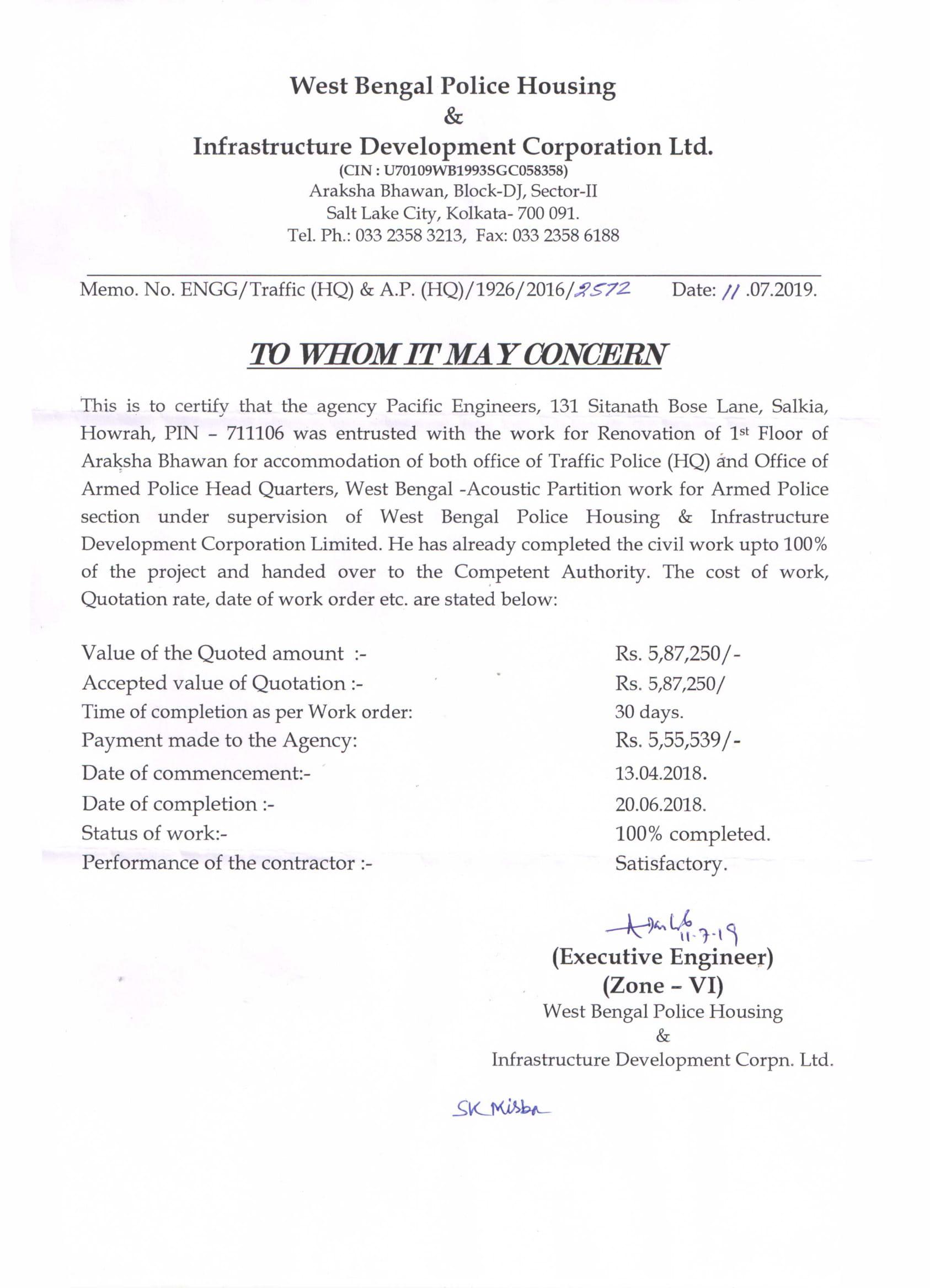 WBPHIDC Ltd_COMPLETION CERTIFICATE (1)-1