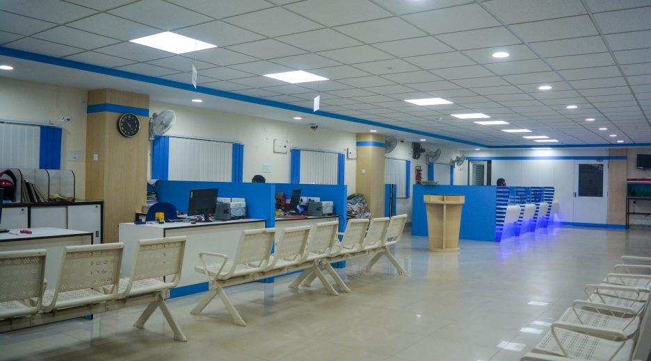 Renovation of State Bank of India (Northern Avenue Branch)