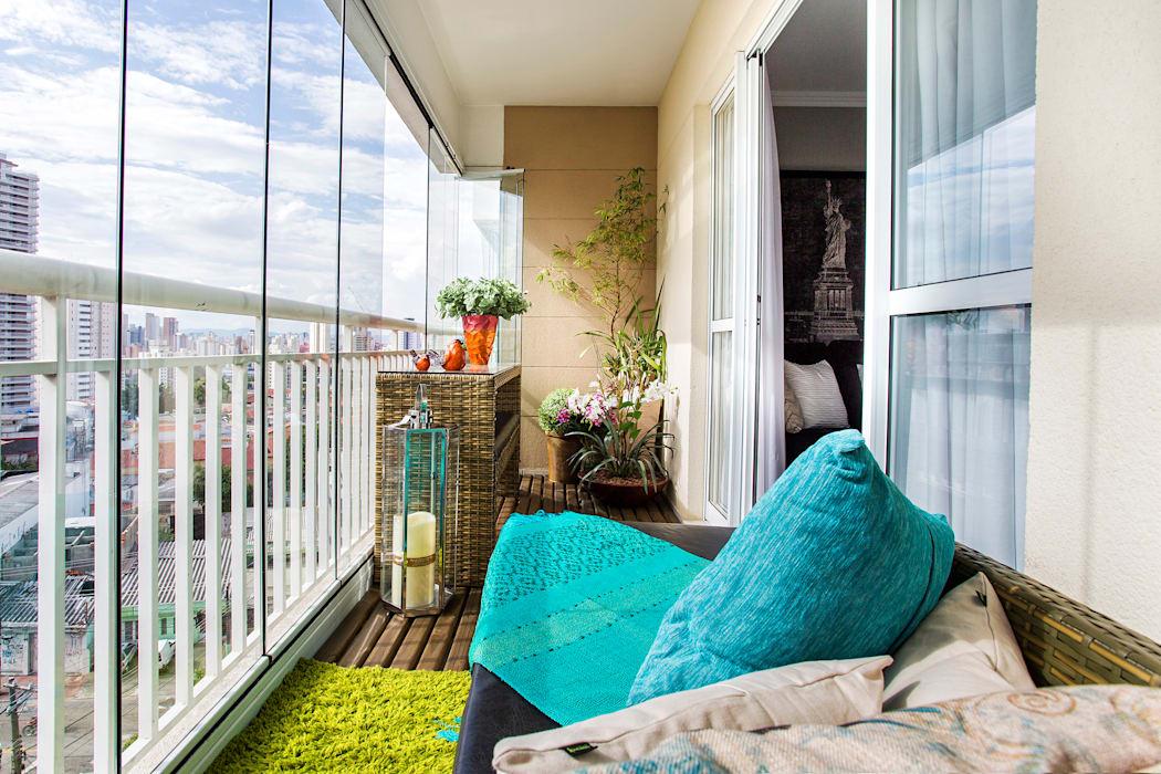 Balcony Decoration by interior designer in kolkata